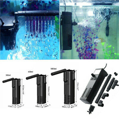 EU Plug Hidom Internal Fish Tank Aquarium Filter Submersible with Spray Bar