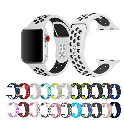 38mm 40mm 42mm 44mm sport band compliance with apple watch band series 4 3 2 1