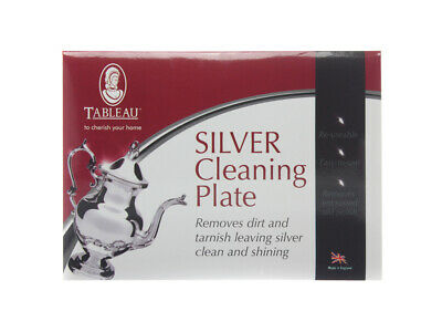 Tableau Silver Cleaning Plate TCP