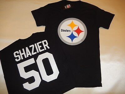 separation shoes 02c49 4a8e8 🔥RYAN SHAZIER #50 PITTSBURGH STEELERS Iron-on patch Jersey ...