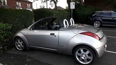 Ford Street Ka Convertable 1.6 2005 only 42805 Miles Brand new soft top roof