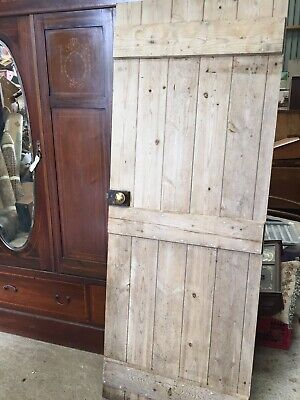 Reclaimed Old Pine Ledge Brace  DOOR Reclamation Vintage Country  19/8/D