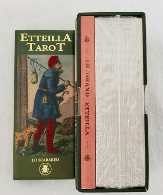 Lo Scarabeo Limited Edition Etteilla Tarot - NEW & RARE Sealed- Free Shipping