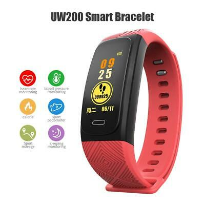 UW200 Smart Bracelet Band GPS Heart Rate Monitor Pedometer Fitness Tracker Sport