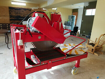Stone Cutting Machine - Electric