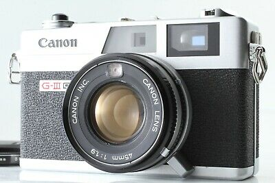 *Near Mint* CANON Canonet QL19 GIII G3 35mm Rangefinder Camera from Japan #M-46