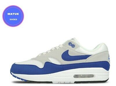NIKE AIR MAX 1 Anniversary Royal Blue OG 101 UK8 March 17