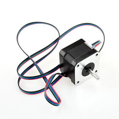 NEMA 17 Stepper Motor 12V 0.4A for CNC Reprap 3D Printer Extruder 36oz-in 26Ncm