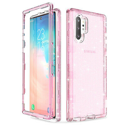 Clear Heavy Duty Shockproof Rugged Case Cover for Samsung Galaxy Note 10 Plus 5G