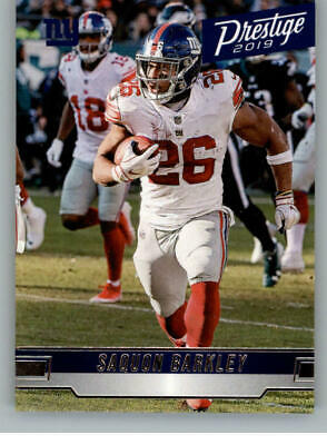 2019 Prestige Football Card Singles NFL You Pick (1-200) Buy 4 Get 2 FREE