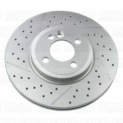 Pagid YH21537 C Front Right Left Brake Disc Set x2 Discs Replacement Spare