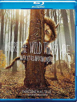 Where the Wild Things Are (Blu-ray Disc, 2010, Canadian) BRAND NEW SEALED