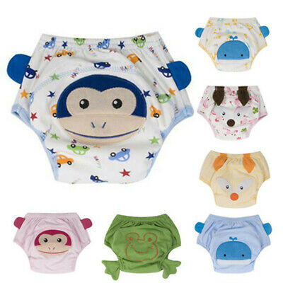 Breathable Diaper Pappy Training Pants Washable Reusable for Baby Infant