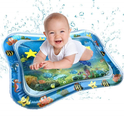 Baby Toddlers Inflatable Water Play Mat Patted Pad Cushion Kids Fun Tummy Time