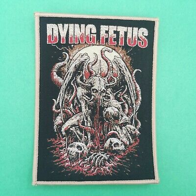DYING FETUS Patch Suffocation Aborted Deicide Nile Cannibal Corpse Jungle Rot