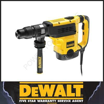DeWalt D25721K 7Kg SDS Max Rotary Combination Hammer 1350W 240V With Tool Kitbox