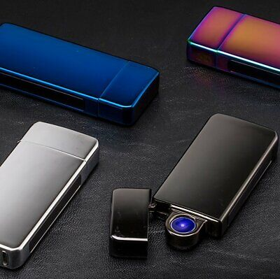 Mini Double Arc Plasma Windproof Lighter Electric Lighter Pulsed Lighters