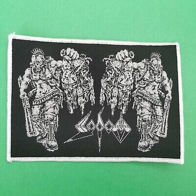 SODOM Patch Kreator Destruction Tankard Slayer Anthrax Testament Possessed