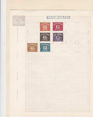 great britain stamps page ref 17122