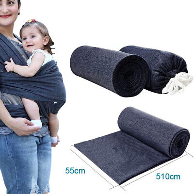 Breastfeeding Carrier Infant Baby Adjustable Wrap Newborn Pouch Sling Stretchy