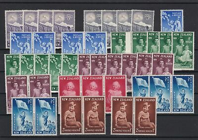 New Zealand Mint Never Hinged Stamps  ref 23128