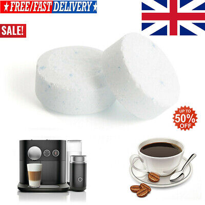 10/20/30x Effervescent Cleaning tablet Coffee Machine cleaning Professional UK