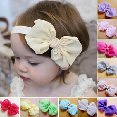 Hot Newborn Baby Girl Toddler Infant Flower Headband Hair Band Hair Accessories