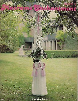 #SP3 Macrame Enchantment Book 3 Hanging Table, Coffee Table, Fountain Patterns