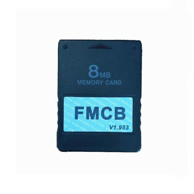 Free McBoot FMCB 1.953 Sony Playstation2 PS2 8/16MB Memory Card Cards MC Boot