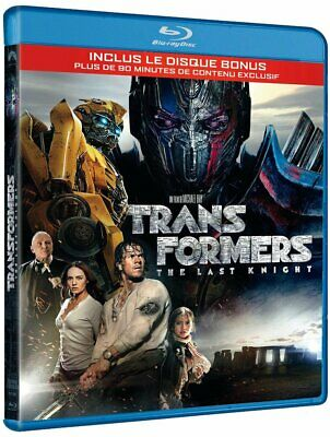 Transformers - The Last Knight - Blu Ray + Blu Ray Bonus (Neuf)