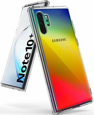 Samsung Galaxy Note 10 Plus Case Ringke [FUSION] Clear Shockproof Cover Ship USA
