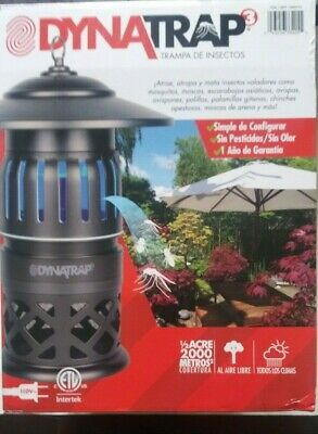 """DYNATRAP 1/2 Acre Flying Insect Trap Mosquitos , Flying Insects """"New"""""""