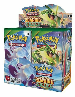 Pokemon TCG x4 Booster Packs XY Roaring Skies 1/9 Booster Box Unsearched SKU#299