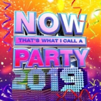 Various Artists Now That's What I Call a Party 2019 Thats 2 Disc New CD