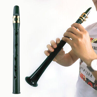 Portable Mini Saxophone Pocket Woodwind Instrument Musical Little Sax w/Bag UK