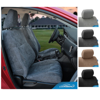 Coverking Suede Custom Fit Seat Covers For Nissan Leaf