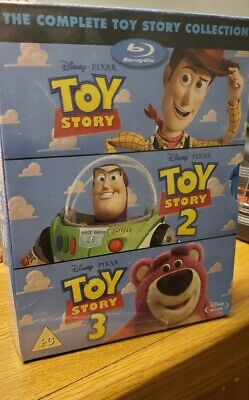 The Complete Toy Story 1-3 Collection Blu-ray Box Set Disney Pixar Blu ray NEW