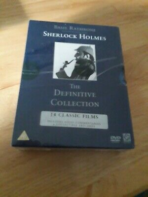 Sherlock Holmes  - The Definitive Collection (DVD) Box Set (New and sealed)