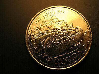 Canada 1999 Millennium May 25 Cent Mint Grade Coin