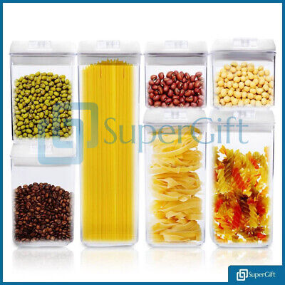 1.1L Air Tight Food Storage Container Durable Seal Pot Jar