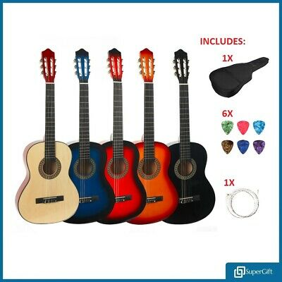 39'' Full Size 4/4 Beginner Classical Acoustic Guitar Pack Package - SuperGift