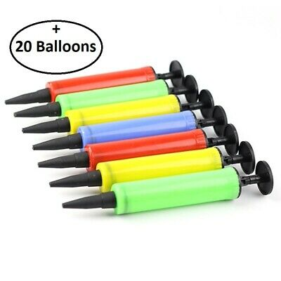 Party Hand Air Pump Balloon Swimming Ring Inflatable Easy & Fast Toy inflator
