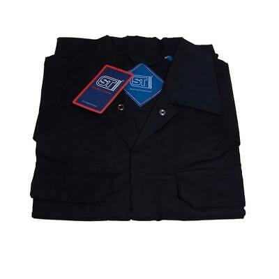 Polycotton Coverall Navy Medium Regular Leg Chest 100-104cm - Supertouch 51902