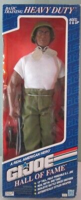 GI Joe Heavy Duty African American Black Soldier Basic Training Hall Of Fame 12""