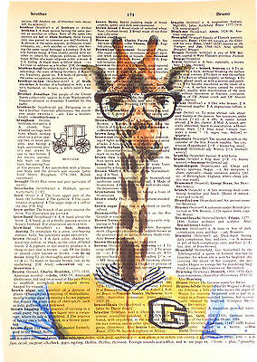 ArtN Wordz Andy Warhol Campbell Soup Original Dictionary Page Pop Art Wall Print
