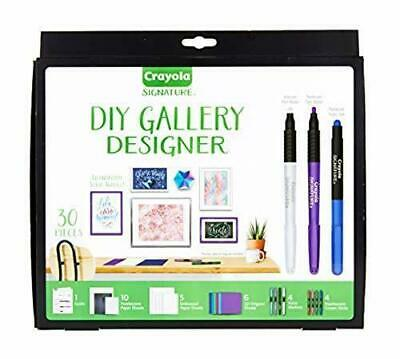 NEW Crayola 30pc DIY Gallery Wall Art Set and Origami Kit