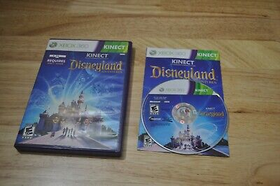 XBOX 360 Kinect Disneyland Adventures *USED* With Manual And Case