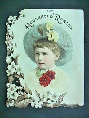 Vtrdcd177 Household Ranges Victorian Trade Card Collectible  Advertising