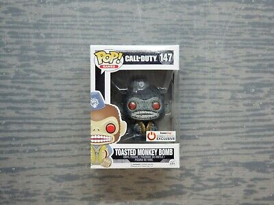Funko POP! Toasted Monkey Bomb #147 Call of Duty Gamestop Exclusive