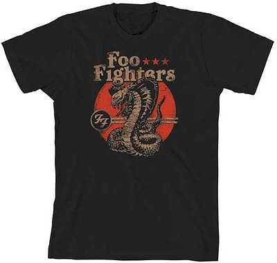 finest selection 05c46 8b18f FOO FIGHTERS - Script Logo - T SHIRT S-2XL New Official Live ...